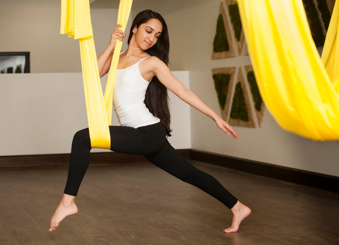 Zen Spot Holistic Spa in Coral Gables, Florida offers aerial yoga and meditation. Click to read more or pin and save for later! Miami Spa | South Miami | Coral Gables