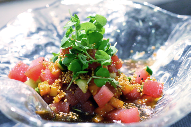 Ceviche Nikkei recipe from Miami restaurant Toro Toro. Click to read more or pin and save for later!
