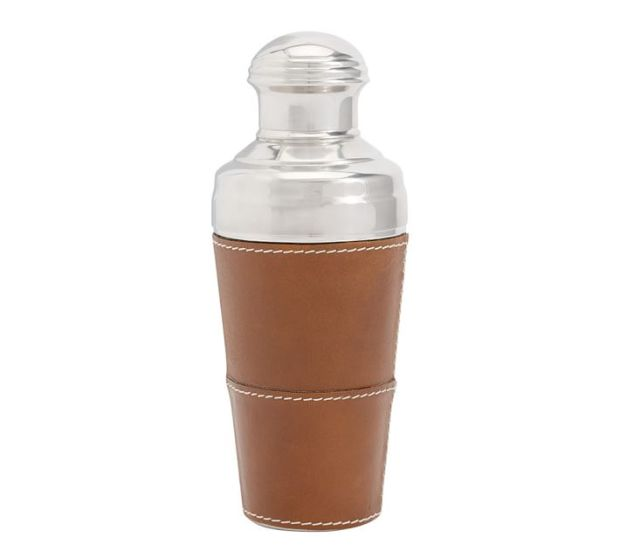 Pottery Barn beckett leather shaker-