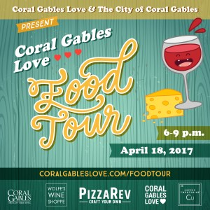 Coral Gables Food Tour April 2017