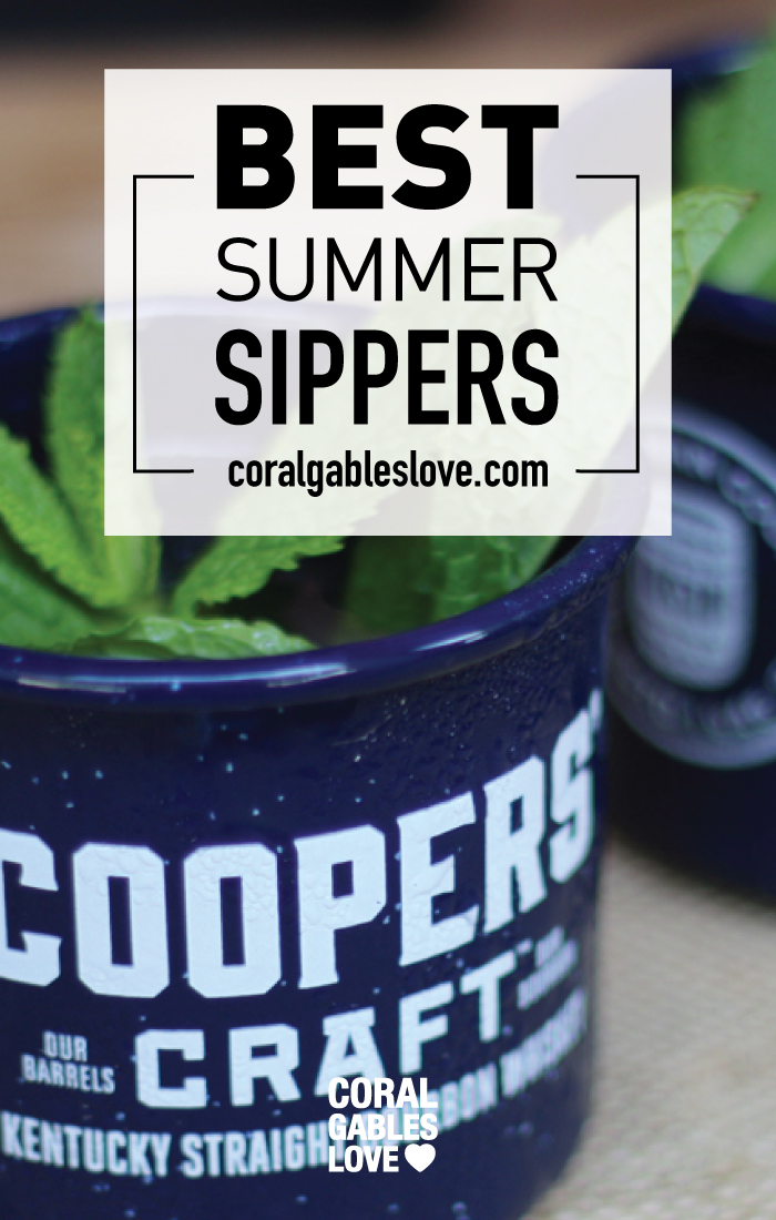 Best Summer Cocktails using bourbon