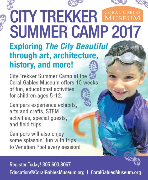 Coral Gables Museum Summer Camp 2017