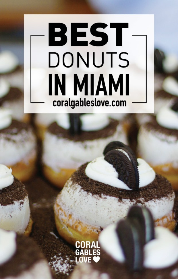 The Best donuts in Miami are Honeybee Doughnuts in South Miami.
