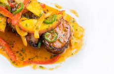 Miami Chef Adrianne's Chili & Summer Peach Pork Tenderloin Recipe