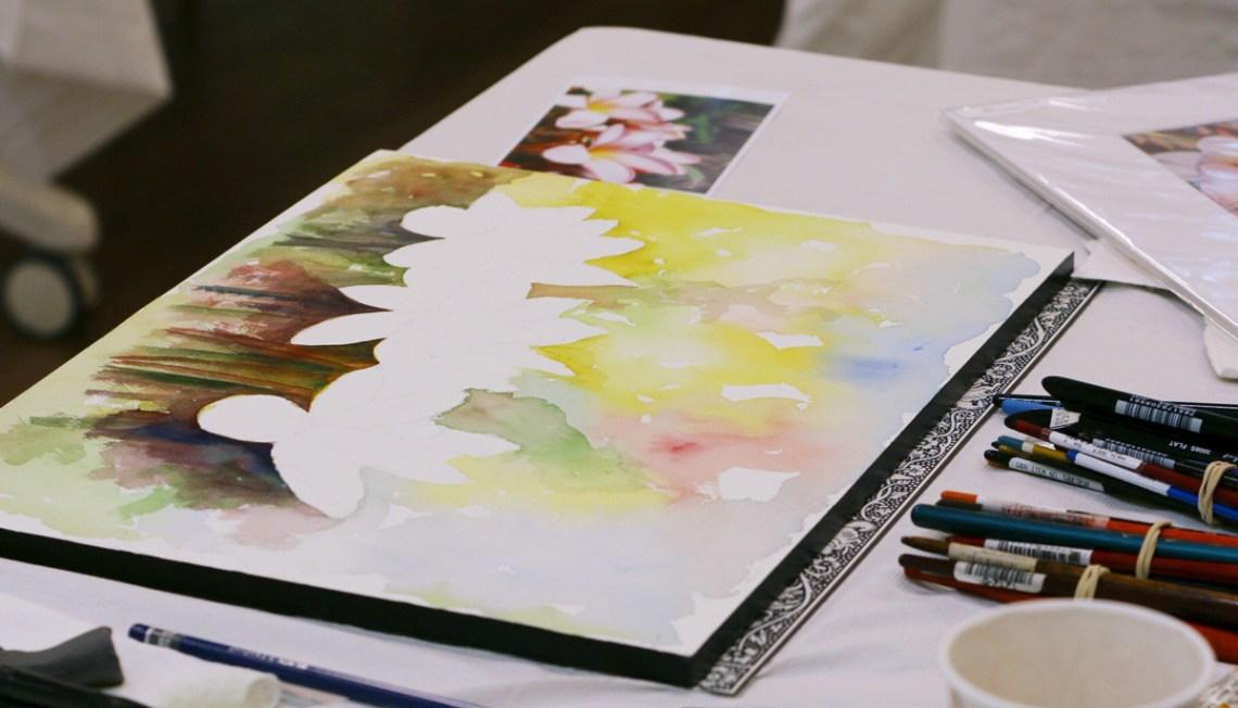 Watercolor Classes at Fairchild Tropical Botanic Gardens in Coral Gables, Florida - Miami