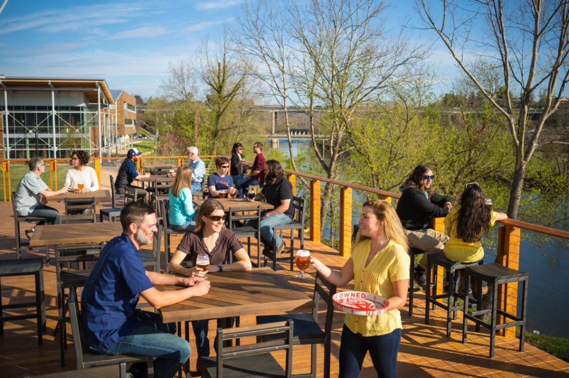 Asheville North Carolina Travel Guide New Belgium Brewing Company of Fat Tire Beer