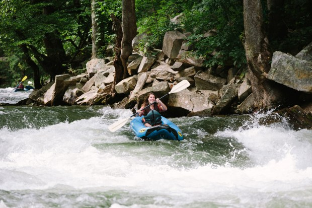 Asheville North Carolina Travel Guide - Whiewater rafting near Asheville