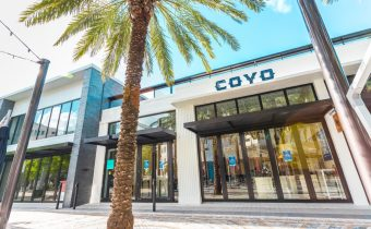 Coyo Taco Coral Gables location on Giralda Avenue