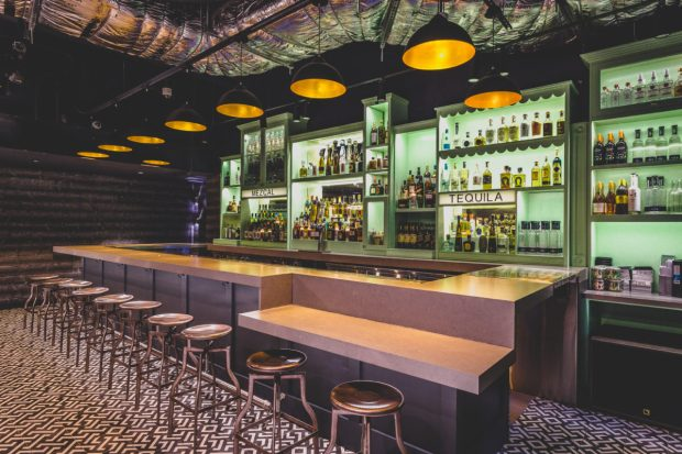Coyo Taco Coral Gables location on Giralda Avenue secret bar