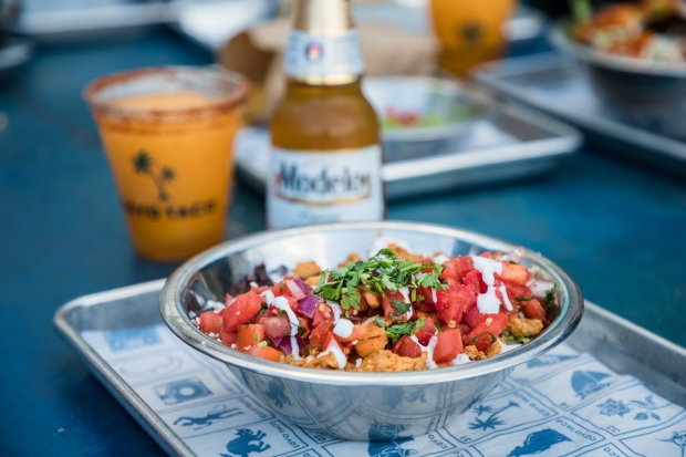 Coyo Taco Coral Gables location on Giralda Avenue burrito bowl