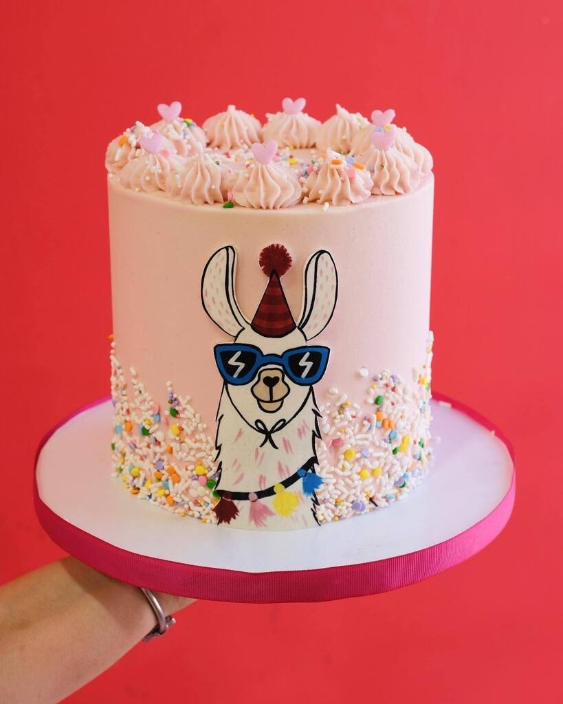 Bunnie Cakes Llama Miami, Florida amazing special occasion birthday cake