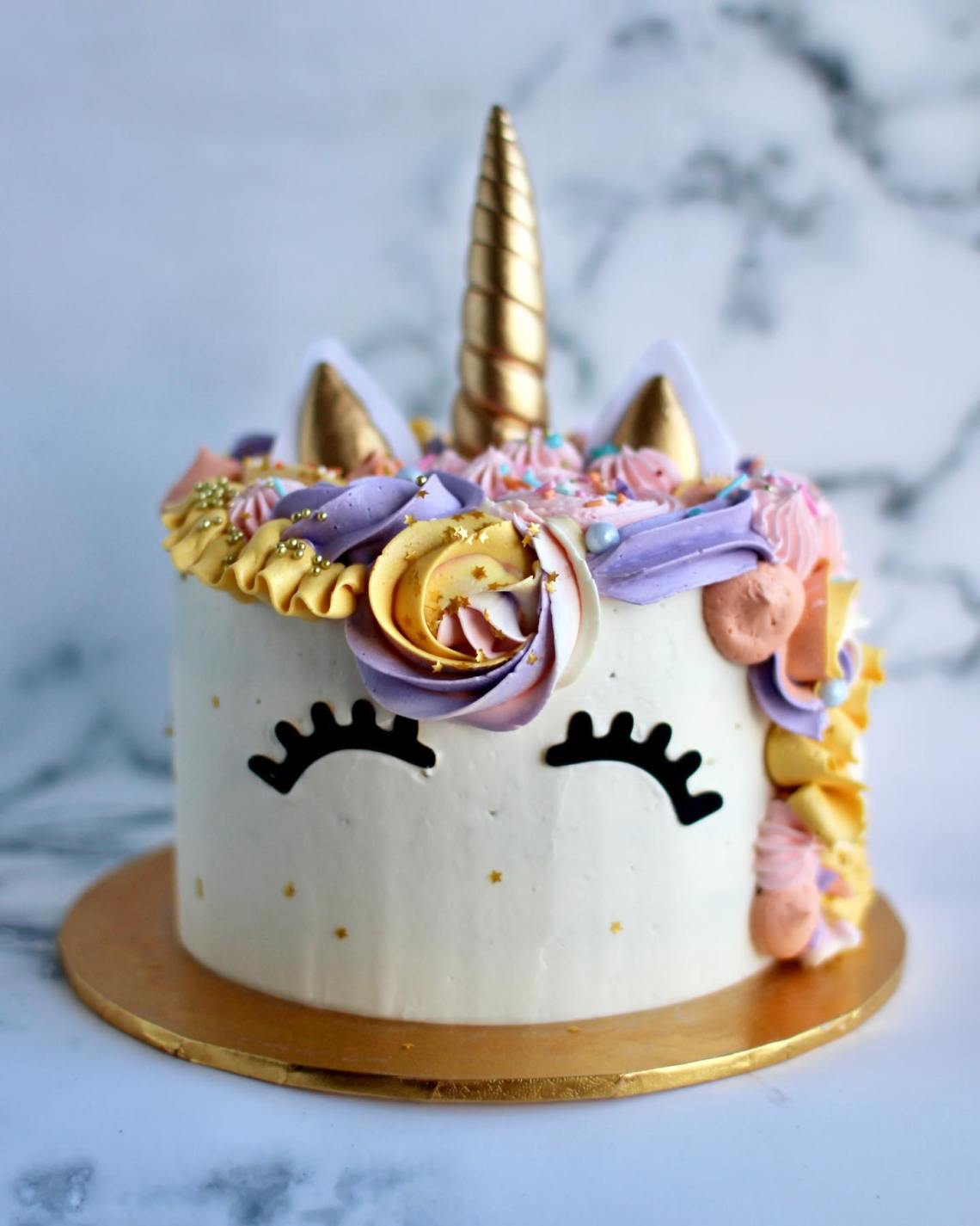 Tantay Miami Unicorn Birthday Cake