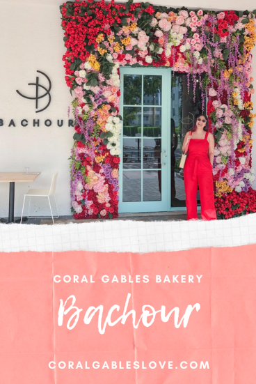 Instagrammable Bakery Bachour in Coral Gables, Miami, Florida