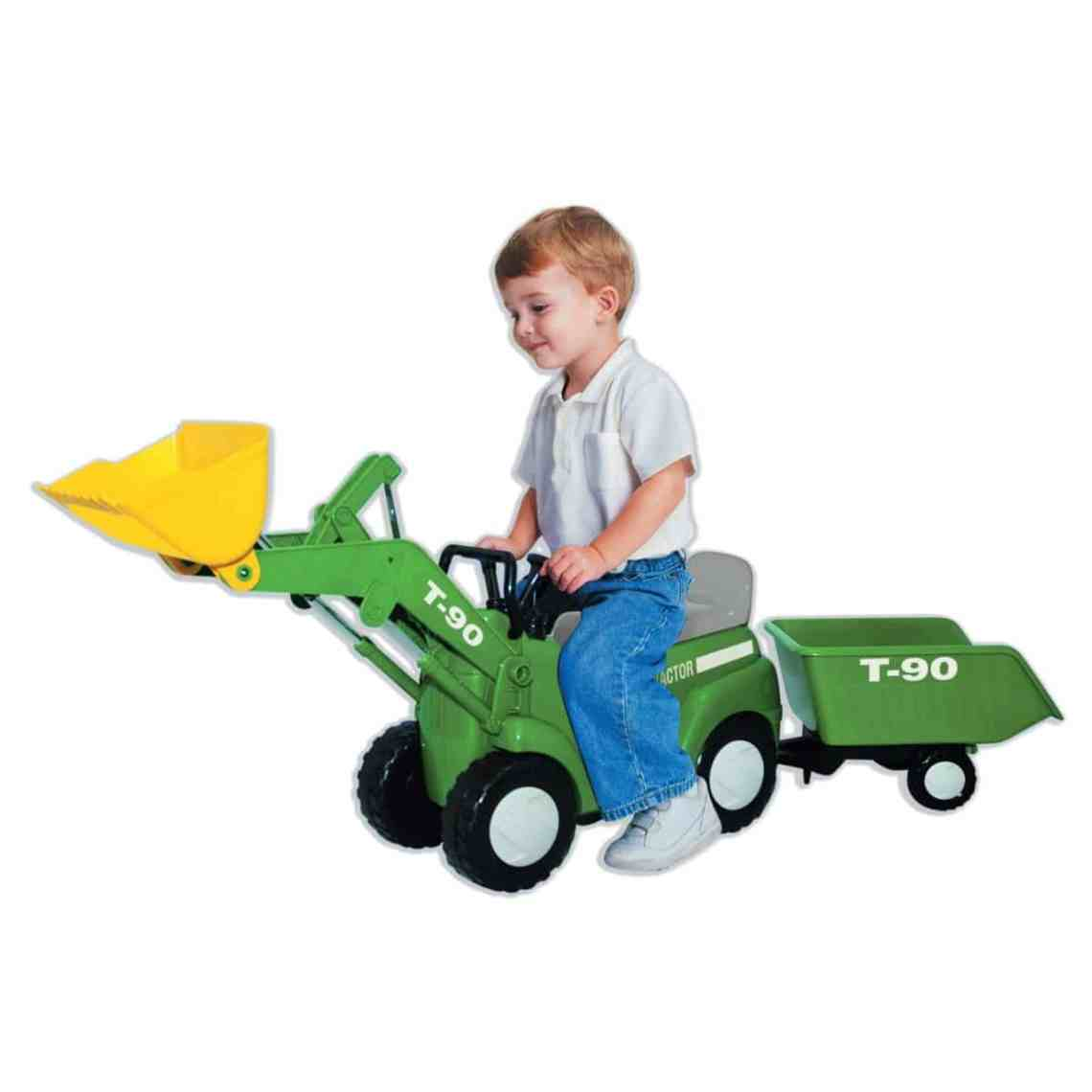 Best Gifts For Kids Excavator Peddal Ride Along Toy