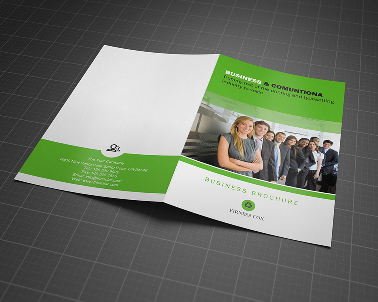2 Page Brochure Template Ideal Vistalist Co