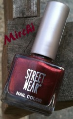 Street Wear Nail Lacquer in Mirchi; Reviews & Swatches