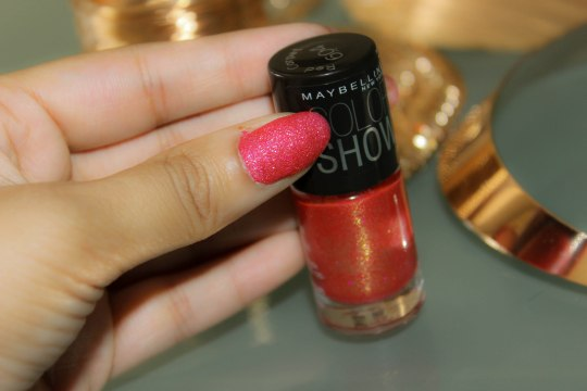 Maybelline Red Carpet Colorshow  Glitter Mania Nail Polish-2