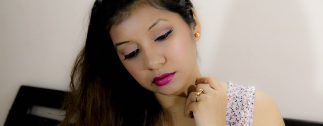 Pink Makeup Look for Dusky Indian Skin-tones