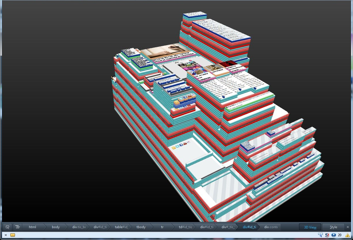 hight resolution of 3dview cke