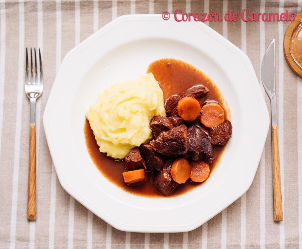 Boeuf bourguignon | Receta tradicional francesa