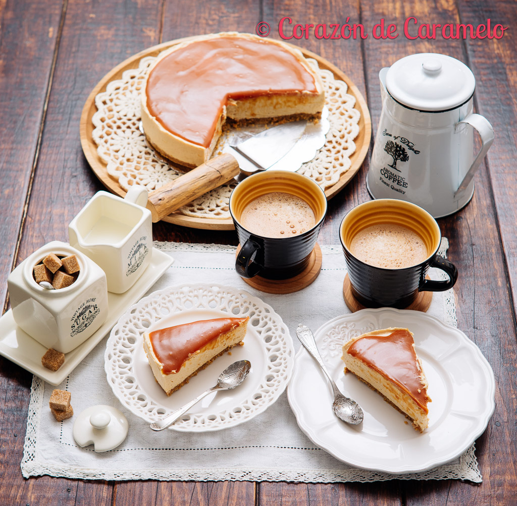 Cheesecake de Toffee   Receta facilísima
