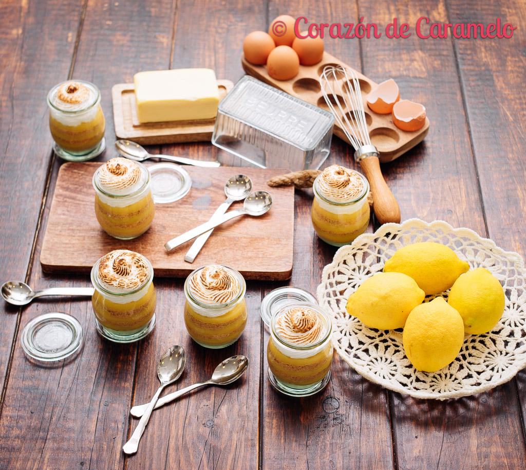 Lemon pie en vasitos   Receta facilísima