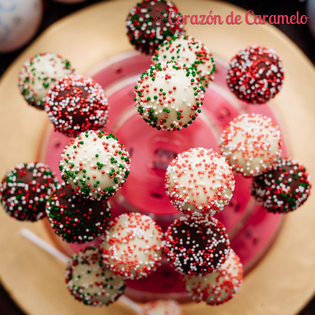Cake Pops de Navidad