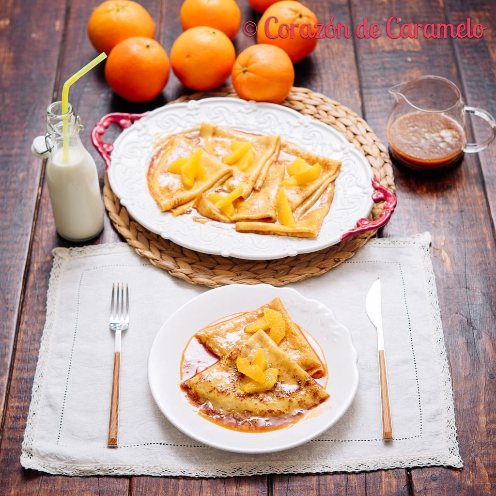 Crepes Suzette | Receta francesa