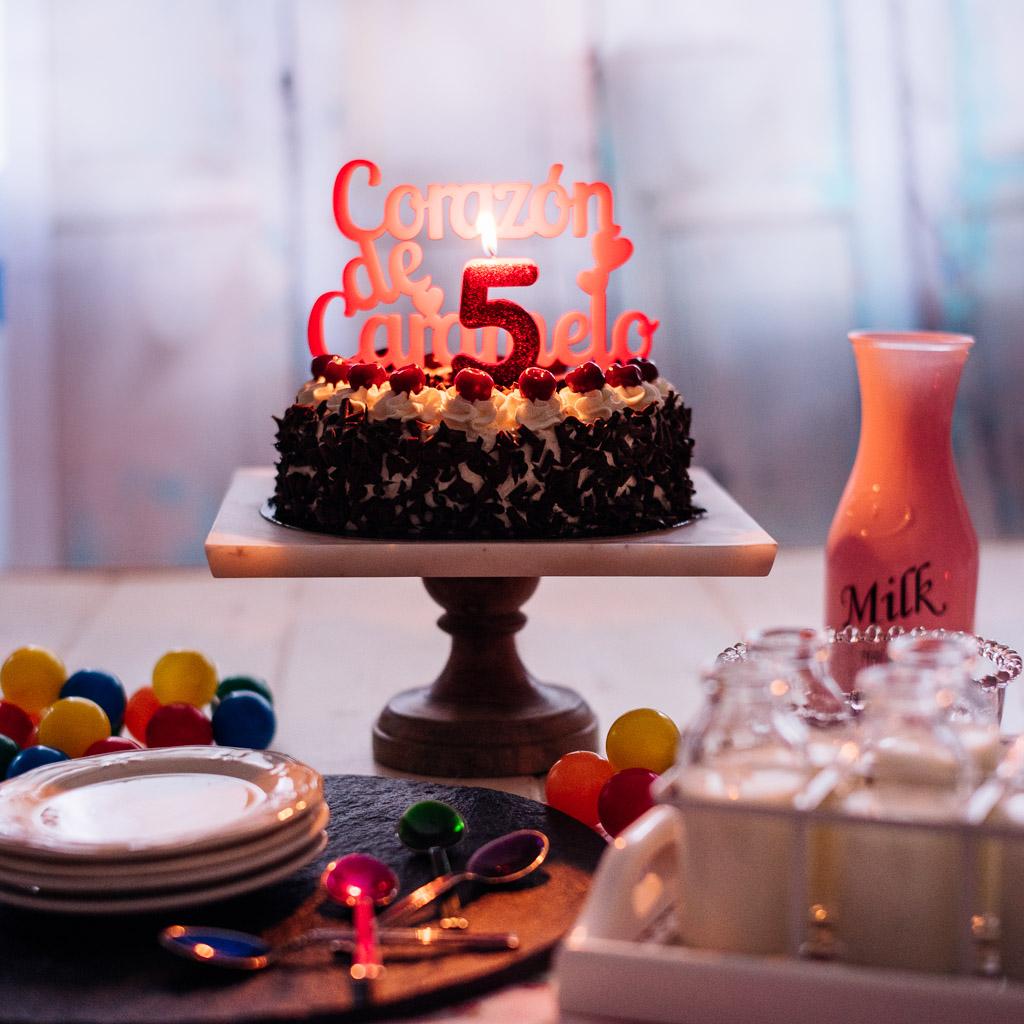 Tarta Selva negra | El blog cumple 5 años