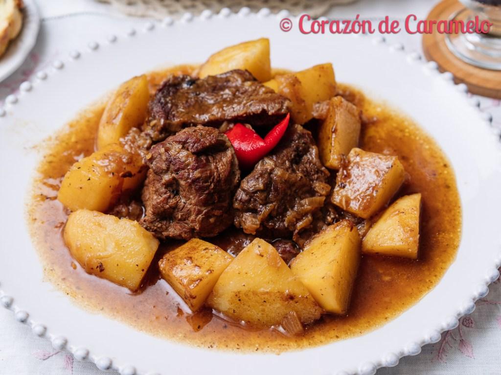 Ternera asada gallega   Receta casera