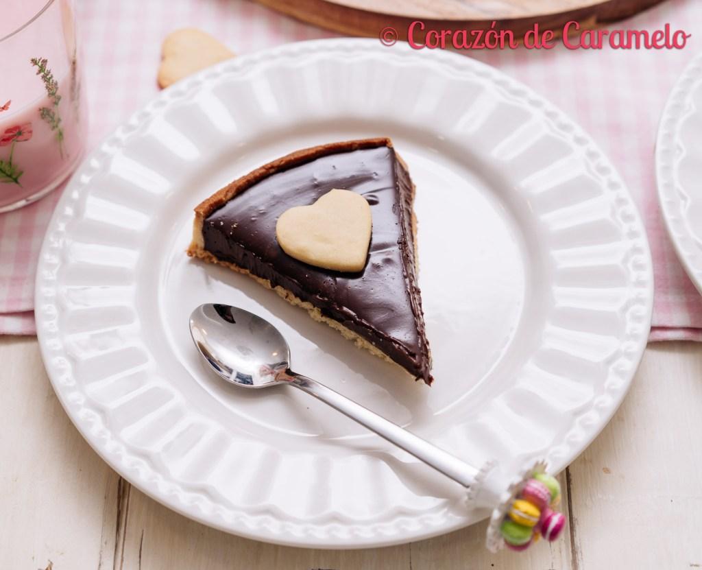 Tarta de chocolate y naranja   El blog cumple 6 años