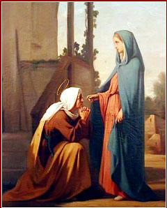 Visitación a María a Isabel