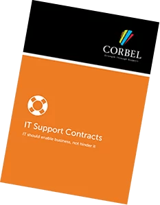 corbel-it-support-contracts-brochure-front