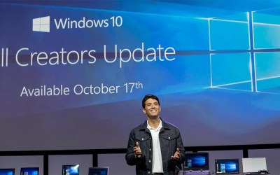 Microsoft Windows 10 Fall Creators Update available from October 17