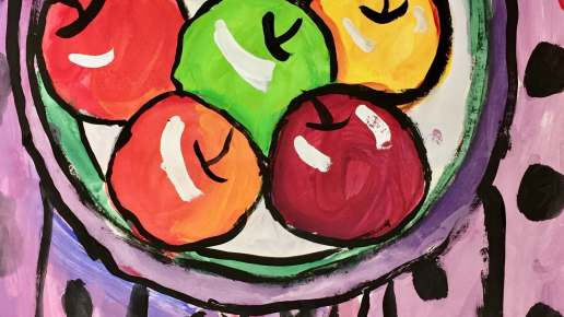 Matisse's Apples
