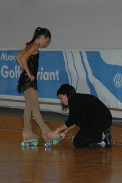 ASD Pattinaggio San Mariano: Chiara Merli, da atleta ad allenatrice 8