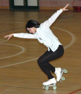 ASD Pattinaggio San Mariano: Chiara Merli, da atleta ad allenatrice 11