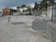 Una buona notizia: buche sistemate sul tetto/parcheggio di Corciano 1