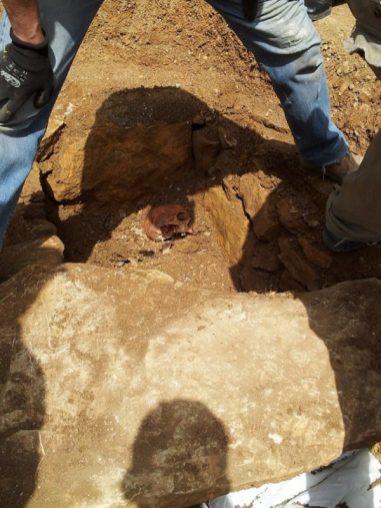 Ritrovata una tomba romana a Capocavallo, ecco le foto 6