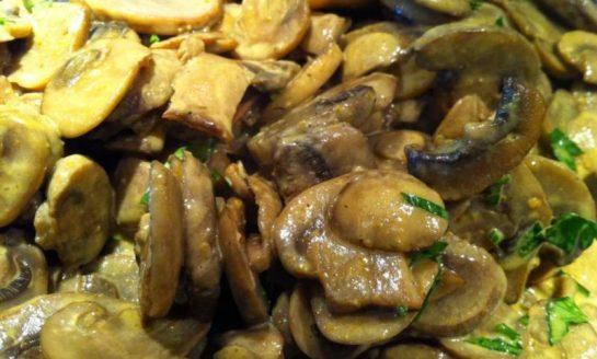 Funghi allo zafferano di Città della Pieve