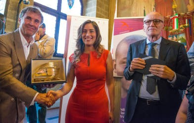 A Brunello Cucinelli il Premio Internazionale Rondine Preziosi per la Pace consegnato dal Ministro Boschi 4