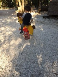 Rimesso a nuovo il parco giochi per bambini sul Colle della Trinità 1