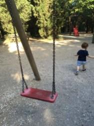 Rimesso a nuovo il parco giochi per bambini sul Colle della Trinità 4