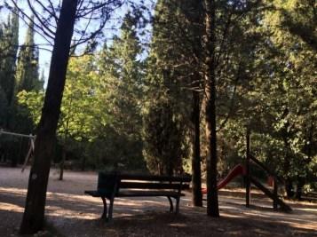 Rimesso a nuovo il parco giochi per bambini sul Colle della Trinità 13