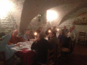 Gli Amici del Presepe di Corciano festeggiano il loro impegno insieme alla Signora Anna 1