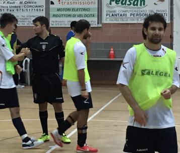calcio calcio a 5 gualdo tadino polisportiva san mariano serie c vittoria san-mariano sport