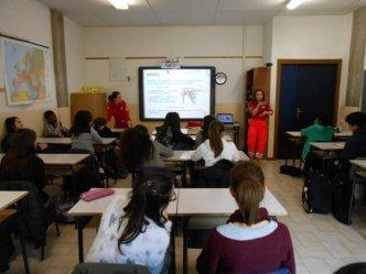 I volontari del Comitato della Croce Rossa docenti speciali per i ragazzi dell'Istituto Benedetto Bonfigli 7