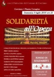 Solidarietà all'Opera Locandina