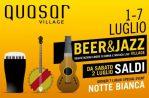 Beer & Jazz: degustazioni, musica e solidarietà. Dal weekend alla notte bianca del 7 luglio