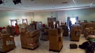 Vinta la gara di solidarietà: a Corciano raccolti quintali di materiale